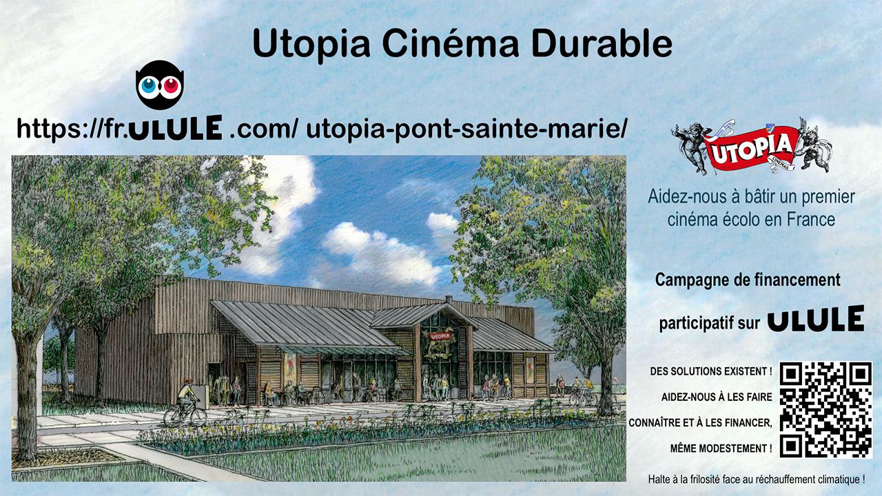 Utopia Pont-Sainte-Marie : campagne Ulule