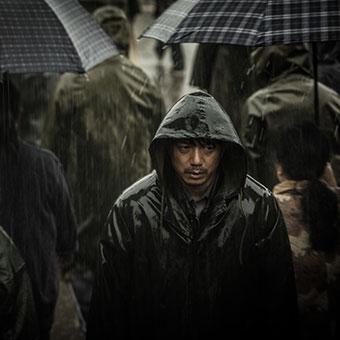 un tueur sous la pluie