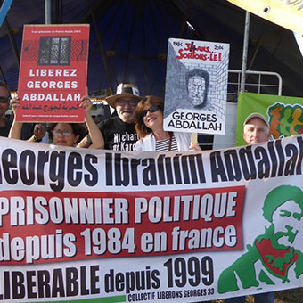 WE WANT GEORGES IBRAHIM ABDALLAH IN JAIL